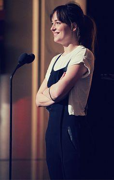 Dakota Johnson - Oscar rehearsals