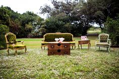 Vintage First Birthday, Outdoor Furniture Sets, Outdoor Decor, Event Design, First Birthdays, Romance, Facebook, Bridal, Home Decor