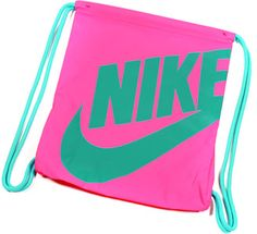 Nike drawstring gym bag Pink and gray Nike drawstring gym bag ...