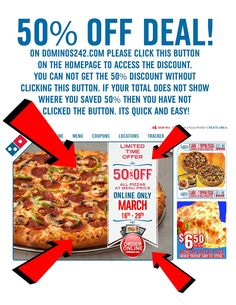 50% off Deal - Dinner is Served!