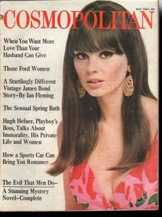 Cosmopolitan magazine, MAY 1966 Model: Sandra Hilton