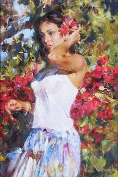Эмоциональные краски картин Михаила и Инессы Гармаш