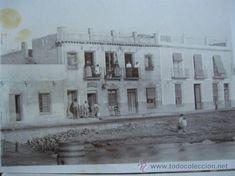 ANTIGUA POSTAL DEL PUERTO DE MAZARRON FONDA DE LA JULIANA, FF.SG.XIX. SIN CIRCULAR.