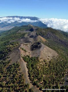 Cumbre Vieja, La Palma. Scientists fear that the collapse of this volcano could cause a mega tsunami that would affect the African Coast, Southern Coast of the UK and the Eastern seaboard of the USA