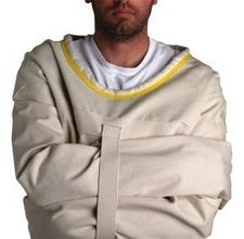Straight Jacket Tutorial for Halloween