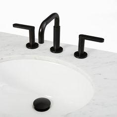 Watson Bathroom Faucet, Dark Bronze | West Elm