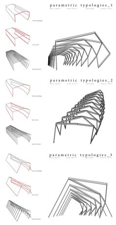 parametric_typologies – Fritz Wolff- # Fritz … – … – The World Parametric Architecture, Pavilion Architecture, Parametric Design, Architecture Drawings, Landscape Architecture, Interior Architecture, Landscape Design, Architecture Colleges, Geometry Architecture