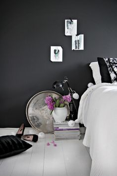 All things Charcoal, Black and white with tiny pops of color! <3 Could be great with any chosen hue for accents.