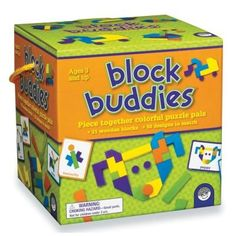 Toy Stacking Block Sets - Block Buddies *** For more information, visit image link.