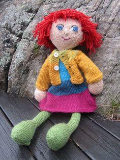 Knitted doll-Arne & Carlos