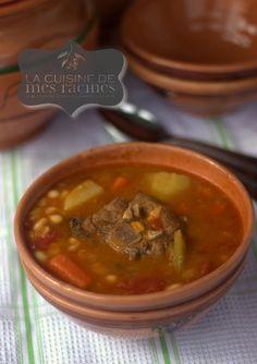 Chorba loubia recette algerienne recipe for Slatet blankit