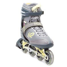 The Andra is for the fitness skater who wants to experience the speed of an aluminum framed skate. With an 80mm wheel size and standard cuff height, it makes for a supportive fit for any level of inline skater. Beginner or entry-level inline skaters will enjoy the stabilty and controlled speed.K2 Women's cuffs are scalloped to accommodate for a woman's lower calf shape, thus a more comfortable skate. K2 Women's skates use the lightest materials on the market to create a skate that is…