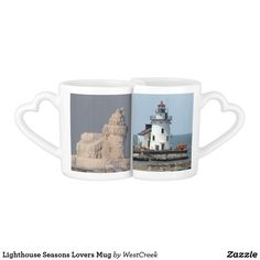 Lighthouse Seasons Lovers Mug