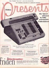 Friden 1959 Calculator. #Retro #Gadget