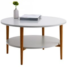 Awesome round coffee table from JYSK - $199 is a bit pricey though?