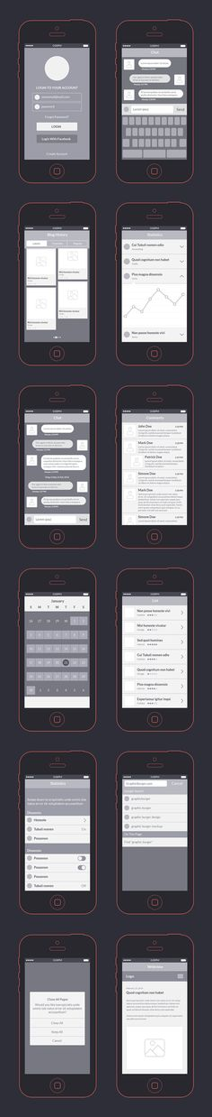 This wireframe kit comes in handy when starting a new app design project by helping you create the prototyping. The kit contains diferent UI elements in PSD and AI file formats and is brought to you by Vlad Cristea.