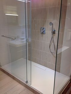 Villeroy & Boch Ensuite tile around the base of shower tray