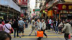 Busy Mongkok ©philbouasse