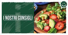 INSALATA DI FRUTTA E VERDURA Ecco un'idea per un perfetto e vitaminico piatto unico estivo: un'insalatona di frutta e verdura!