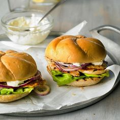 Ginger-lime chicken sandwiches from Better Homes and Gardens Magazine, June 2013