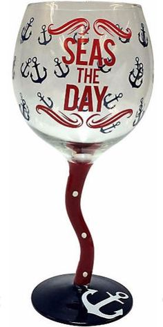 Seas the Day Goblet
