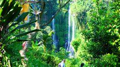 Wasserfälle auf Bali