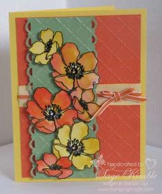 Fabulous Florets from Stampin' Up!
