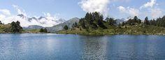 Lac de Bastan inférieur, dans la vallée du Néouvielle.