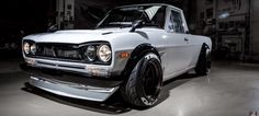 This Datsun Pickup Has The Heart (And Face) Of A Sports Car