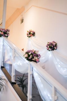 Stairs with light, stairs with stars | Wedding decoration blogtocasando.com