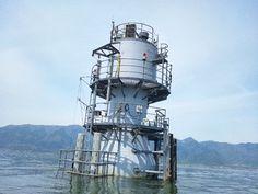 『北湖に浮かぶ巨大建造物!!』