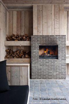 Houten tuinkantoor met een plat dak veranda pinterest met - Eigentijds pergola hout ...