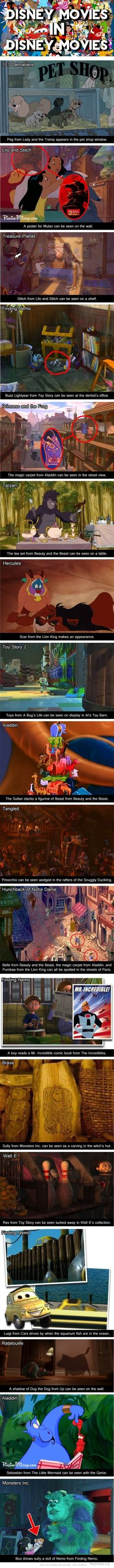oh my gosh thats amazing!!! I've watched those movies a hundred times and never noticed that!
