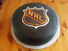 Awesome @NHL cake!