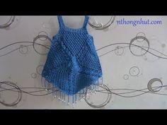 Túnica Boho con flecos / Patrones y Tutorial en video | Crochet y Dos agujas