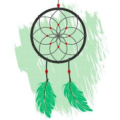 Dream Catcher 10 - Quarter Clipart