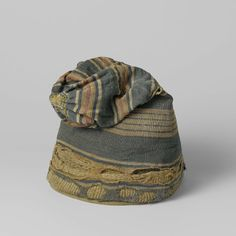 Woollen Caps Worn by Dutch Whalers, anonymous, c. 1740 - c. 1760 - Rijksmuseum