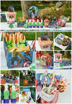 Party ideas to help you throw an amazing MARVEL Avengers birthday party for your child without breaking the bank. These fun DIY ideas and printables make it possible to stay on budget. ad: #BDayOnBudget