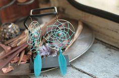 Dreamcatcher Earrings dream catcher shamanic style ethnic