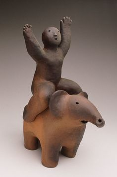 The Gallery - Joy Brown - wood-fired ceramic figures