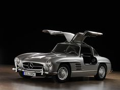 Vintage Mercedes Benz Gull Wing.