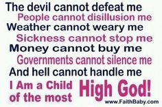 The power of the Children of the Almighty Father.