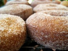 Tanglewood Baked Goods: Buttermilk Cake Doughnuts (with Cinnamon, Sugar, and Cardamom)