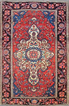Persian Sarouk Farahan rug More Pins Like This At FOSTERGINGER @ Pinterest