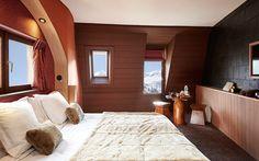 Hôtel des Dromonts, Morzine #inthemountains #fireplace #restaurant #bigluxury #moderndesign #kidfriendly #spa