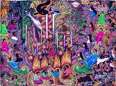 shamanic art by pablo amaringo