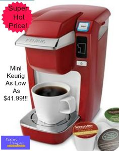 Hot Hot Hot!! Mini Keurig As Low As $41.99 At Kohls!! - http://yeswecoupon.com/hot-hot-hot-mini-keurig-low-41-99-kohls/