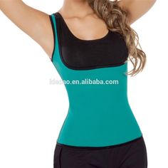 Slimming Neoprene Vest Hot Sweat Shirt Body Shapers sweat band latex body Training Belt waist trainer shapers