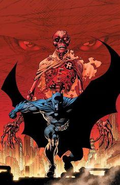 Batman (Cover art by Jim Lee) Batman Comics, Dc Comics, The Dark Knight 2, Superhero Pictures, Batman Dark, Batman Robin, Jim Lee Art, Dc Rebirth, Batman Family