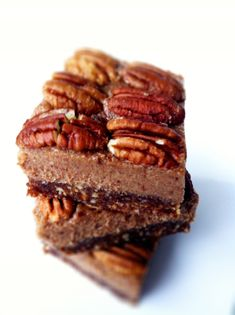 Healthy Pecan Pie Bites (No-Bake, Vegan and Gluten Free)   Amy Layne Paradigm Blog